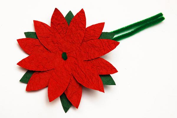 Poinsettia Ornament Kids Crafts Fun Craft Ideas Firstpalette Com