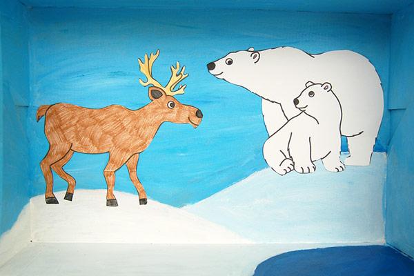Polar Habitat Diorama | Kids' Crafts | Fun Craft Ideas