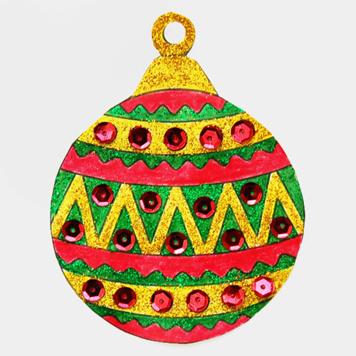 STEP 6b Printable Christmas Tree Ornaments