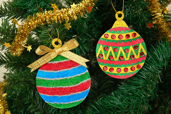 STEP 8 Printable Christmas Tree Ornaments