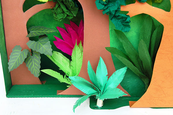 Diorama Plants and Trees craft