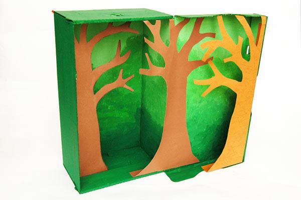 Rainforest Habitat Diorama | Kids' Crafts | Fun Craft Ideas