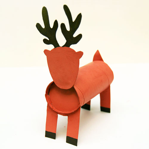 STEP 11 Toilet Paper Roll Reindeer