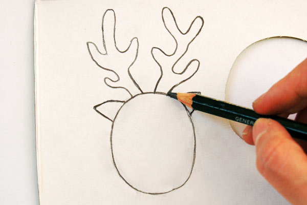 STEP 8 Toilet Paper Roll Reindeer