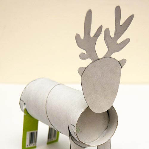 STEP 9 Toilet Paper Roll Reindeer