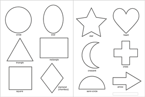 Printable Shapes