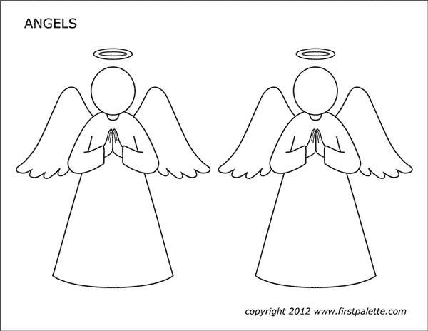 Draw Your Own Angels - Set 1