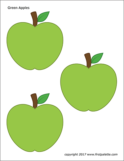 It's just a picture of Free Printable Apple Template with writing