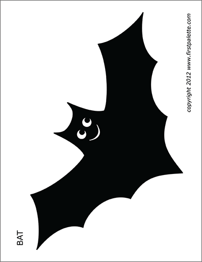 image relating to Bat Template Printable identify Bats Absolutely free Printable Templates Coloring Internet pages