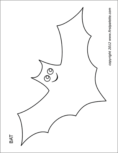 graphic relating to Bat Template Printable known as Bats Totally free Printable Templates Coloring Web pages