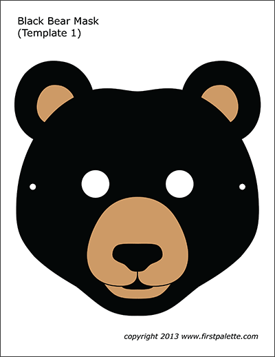 Black Bear Mask 1