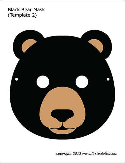 Black Bear Mask 2