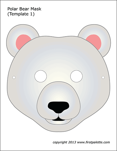 Polar Bear Mask 1