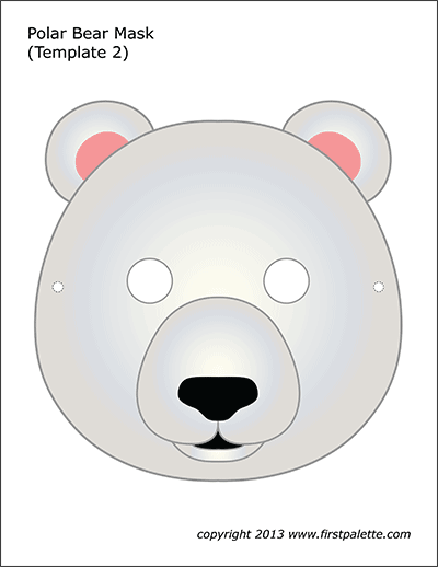 Polar Bear Mask 2