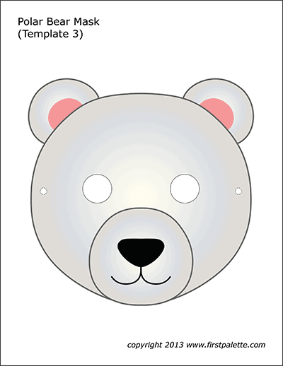 Polar Bear Mask 3