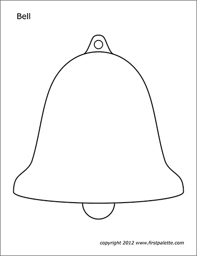 Bells   Free Printable Templates & Coloring Pages ...