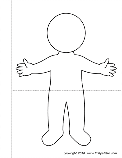 Printable Body Flipbook