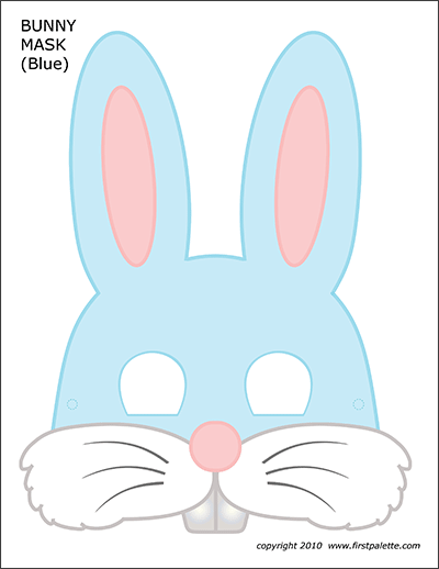 Bunny Chain Template Free Printable