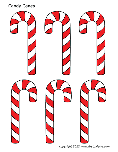 Resource image with regard to candy cane printable