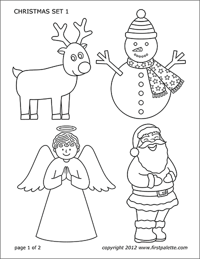 Printable Christmas Sets
