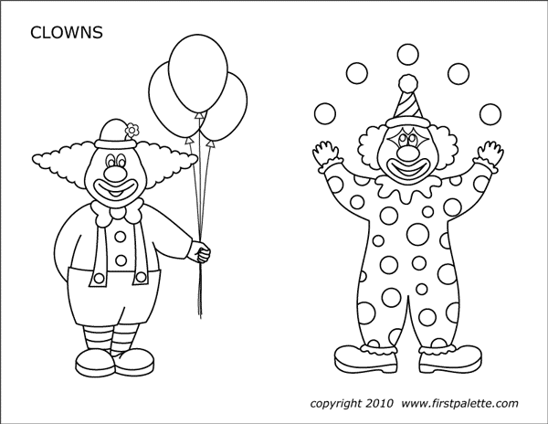 Circus Printables Free Printable Templates Amp Coloring Pages Firstpalette Com