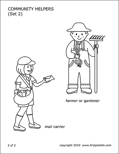Printable Community Helpers