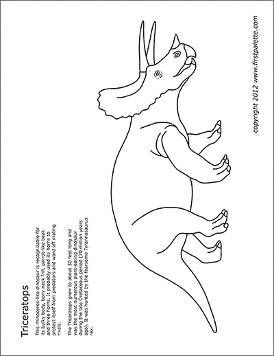 Cretaceous Dinosaurs Free Printable Templates Amp Coloring