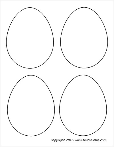 graphic regarding Egg Printable referred to as Easter Eggs Free of charge Printable Templates Coloring Webpages