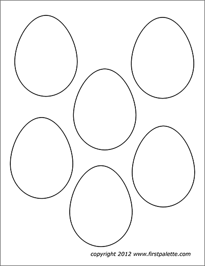 Easter Eggs | Free Printable Templates & Coloring Pages ...