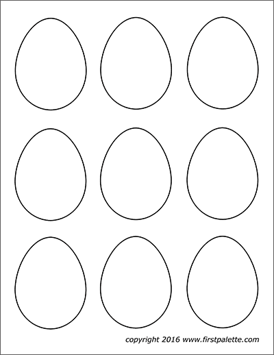graphic regarding Egg Printable identify Easter Eggs Cost-free Printable Templates Coloring Web pages