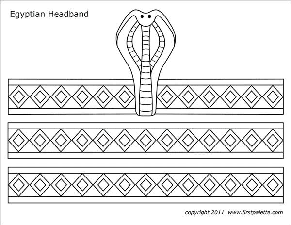 egyptianheadband-pattern Open When Letter Templates Printable Free on alphabet banner, bold alphabet, dear santa, large alphabet, alphabet capital,