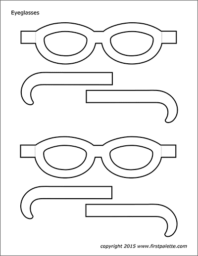 image regarding Printable Sunglasses named Eyegles Templates Totally free Printable Templates Coloring