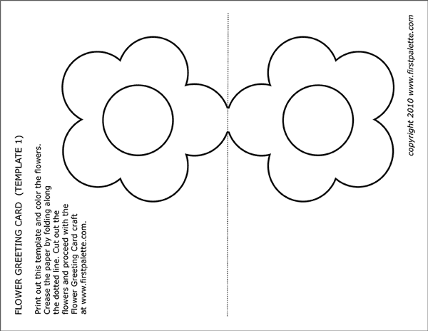 STEP 1 Flower Greeting Card