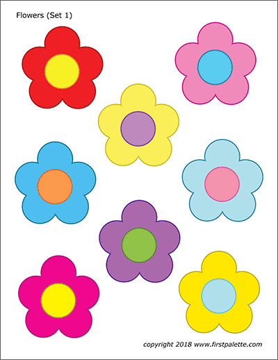 Unusual image with regard to printable colored flowers