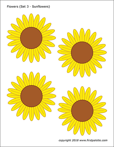 graphic relating to Printable Pictures of Sunflowers identify Bouquets Totally free Printable Templates Coloring Internet pages