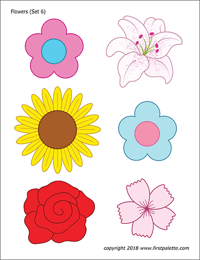 Slobbery image with regard to printable of flowers