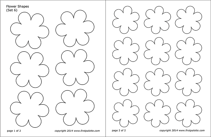 graphic regarding Flower Stencil Printable named Flower Styles Totally free Printable Templates Coloring Web pages