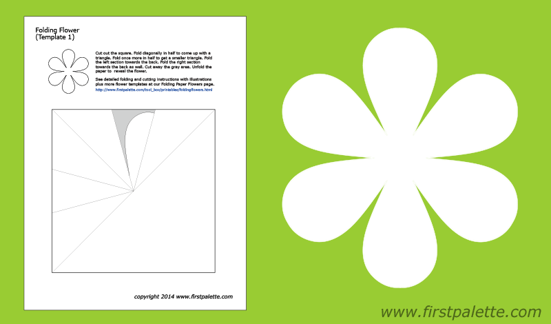 √ printable origami flower templates simple origami flower | 470x800
