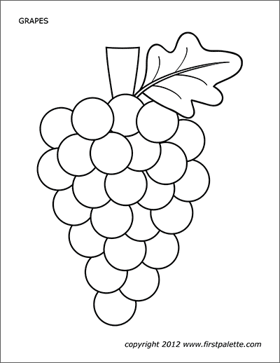 Printable Grapes