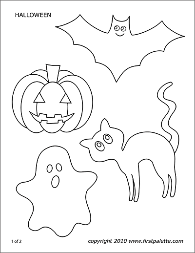 Printable Halloween Characters