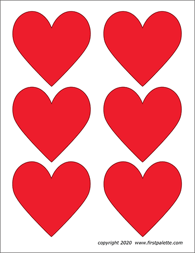 It is an image of Printable Hearts inside giant