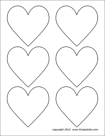 Flower Shapes | Free Printable Templates & Coloring Pages