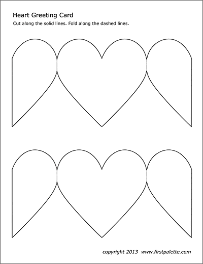 printable instructions for origami heart | Valentines origami ... | 518x400