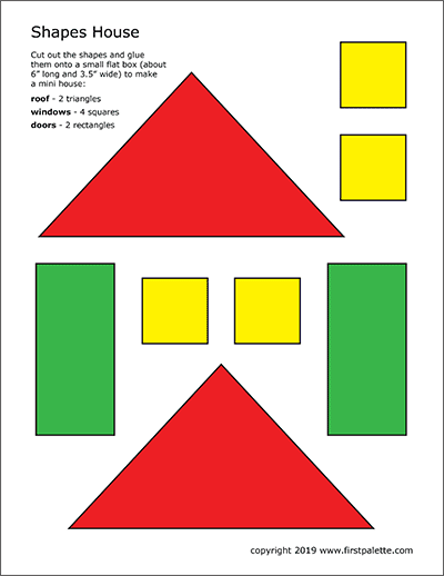 picture regarding Printable House named Styles Space Template Cost-free Printable Templates Coloring