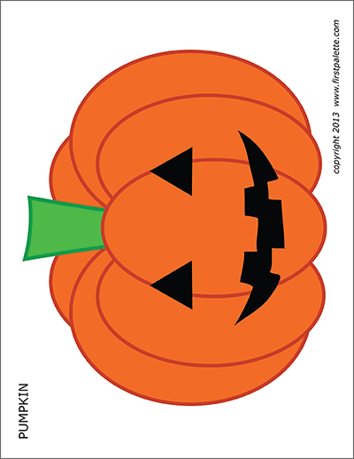 Adorable image with printable jackolantern