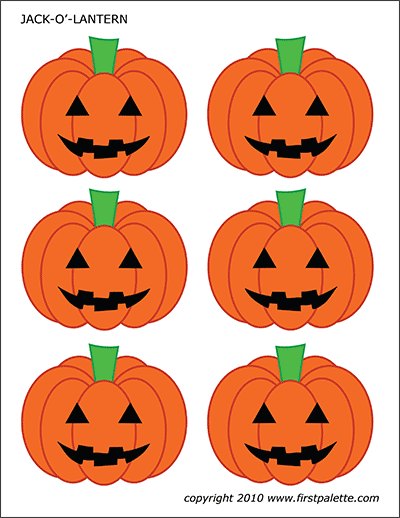 Pumpkins Free Printable Templates Coloring Pages Firstpalette Com