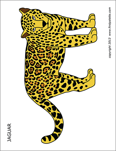 Printable Jaguar