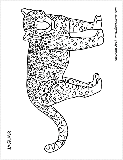 Cheetah Free Printable Templates
