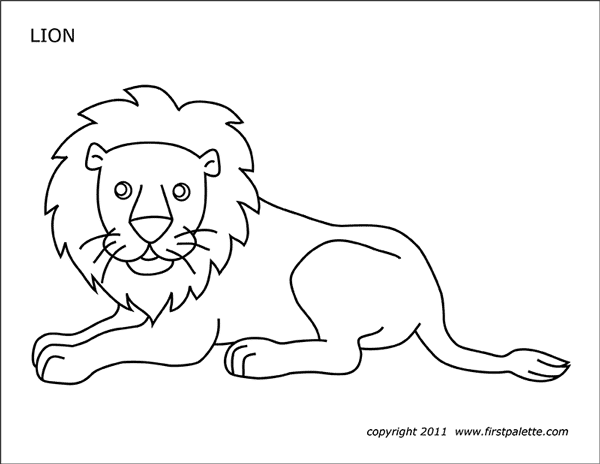 Free Printable Lion Coloring Pages For Kids | Lion coloring pages ... | 464x600