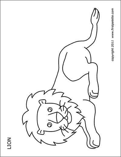 Lion Mask Free Printable Templates